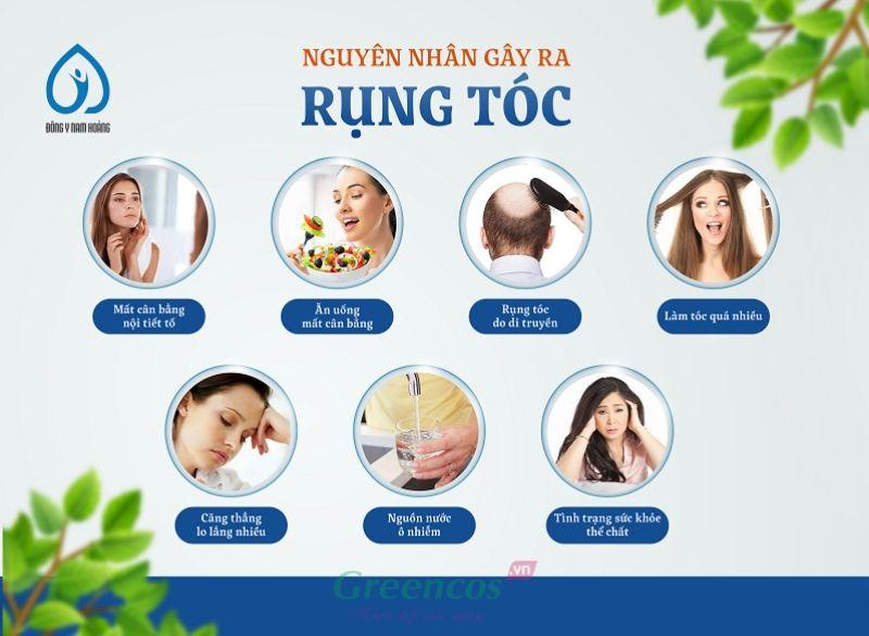 Các nguyên nhân chính gây nên rụng tóc ở các bạn trẻ