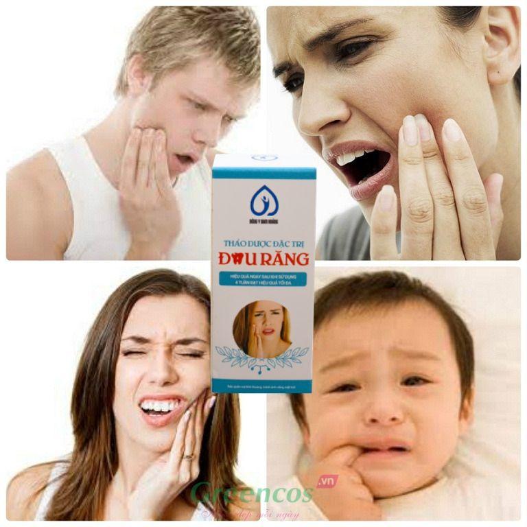 Thuốc thảo dược đặc trị đau nhức sâu răng Nam Hoàng chấm dứt ngay cơn đau khó chịu