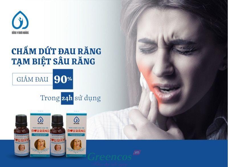 Thuốc thảo dược đặc trị đau nhức sâu răng Nam Hoàng 5 đời gia truyền